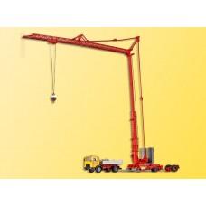 Kibri 13025 - MAN Lorry w/Quick Crane