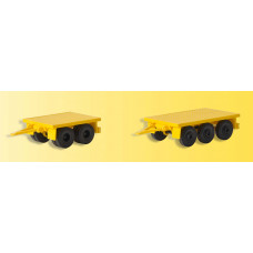 Kibri 13050 - Weight Trailers f/Cranes