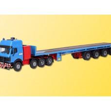 Kibri 13535 - MB 4ax w/Rear Steer Trlr