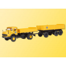 Kibri 14029 - MB 2ax Lorry w/Trailer
