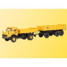 Kibri 14029 - MB 2ax Lorry w/Trailer