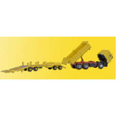 Kibri 14066 - MAN Dump Trk w/Low Loader