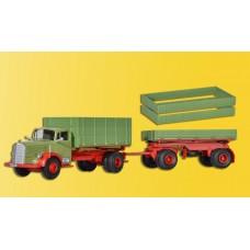 Kibri 14069 - MB 6600 Dump Truck w/Trlr