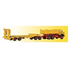 Kibri 14125 - MB Truck w/ Low Ld Trlr