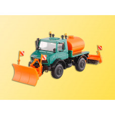 Kibri 14974 - Unimog Sweeper & Plow