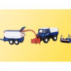 Kibri 14984 - Unimog w/Attachments