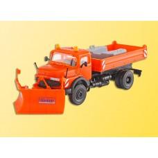 Kibri 15001 - MB Truck w/Snow Plow