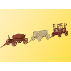 Kibri 15703 - Old-Time Farm Wagons 3/