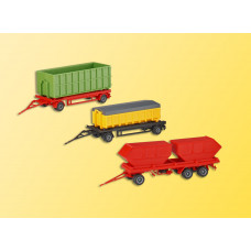 Kibri 15706 - Container Set, Empty 3/