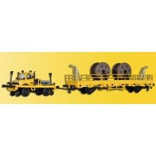 Kibri 16062 - Unimog w/Flatcar Trk Mntn