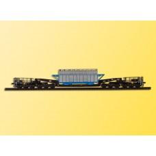 Kibri 16504 - DC Flat w/Heavy Mchn Kit