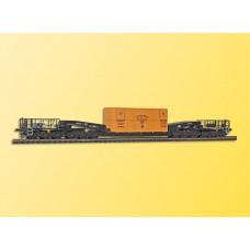 Kibri 16510 - 12ax dc Flat w/Cntnr Kit