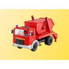 Kibri 18201 - MAN w/Dumpster Fire Dept
