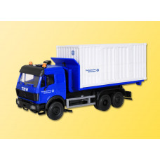Kibri 18461 - MB Lorry w/Close Skip THW