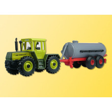Kibri 22234 - Tractor w/Manure Vehicle - Finished Model