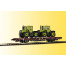 Kibri 26256 - Low Side Car w/2 MB Tracs-   - Finished model