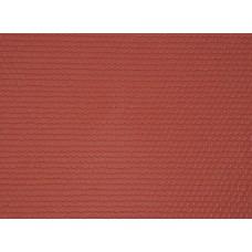 Kibri 34140 - Plastic sht flat tile red