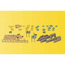 Kibri 36694 - Fountain accessory set
