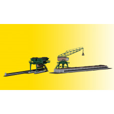 Kibri 36738 - Coal tower & travel crane