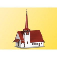 Kibri 36815 - Church w/red roof