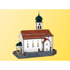 Kibri 37032 - Church w/blue turret