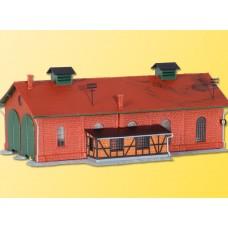 Kibri 37438 - Locomotive shed double