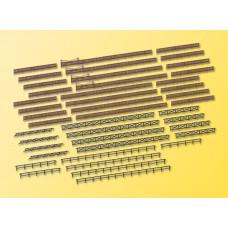 Kibri 37480 - Fences