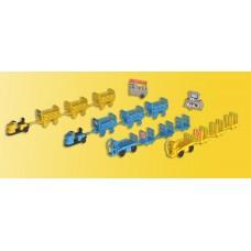 Kibri 37530 - Baggage wagons asst kit