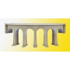 Kibri 37664 - Crvd Viaduct w/Ice 26cm