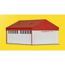Kibri 38542 - Small Fire Brigade Garage