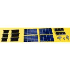 Kibri 38602 - Solar Roof Panels