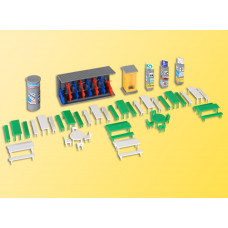 Kibri 38608 - Marketplace Accessories