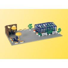Kibri 38634 - Greenhouse and Patio