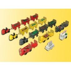 Kibri 38646 - Luggage Transporters