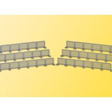 Kibri 38649 - Fence 125 cm