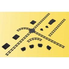 Kibri 39853 - Coal Cart, X-ing & Track