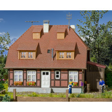 Kibri 48209 - House Muhlenweg w/Lightng