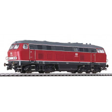 Liliput L132023 Diesel Locomotive BR 219 Red DB Ep.IV