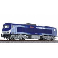 Liliput L132054 Diesel Locomotive DE2500 Silver / Blue
