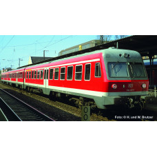 Liliput L133154 3 Car DMU BR 614 DB Red Ep.V