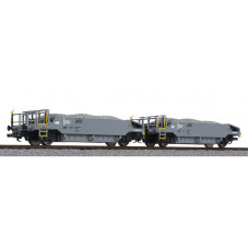 Liliput L230111 Ballast Wagon Set with Ballast Load BLS Ep.VI