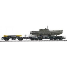 Liliput L230132 (D) - Submarine Transporter Set 'Set 6' DR Ep.VI