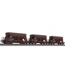 Liliput L230143 3-unit set gravel hopper wagon, ÖBB