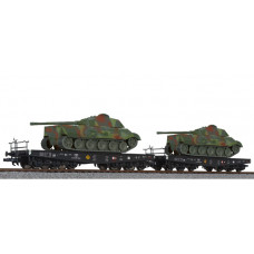 Liliput L230144 2-unit tank transport set