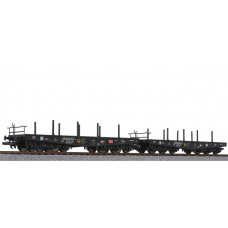 Liliput L230146 2-unit set, flat wagon, DB AG