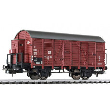 Liliput L235093 Covered Goods Wagon with Brakeman's Cab DR Ep.III (D)
