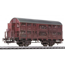 Liliput L235116 Cattle Wagon with Brakeman's Cab DB Ep.III - Weathered