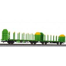 Liliput L235243 Timber Carrier Wagon, DB, ÖBB, Eo. VI