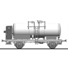 Liliput L235353 Tank Wagon with Brakeman's Cab DB - Weathered Ep.III