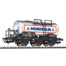 Liliput L235493 (D)  Three Axle Tank Wagon 'Monopolin' DR Ep.II (D)